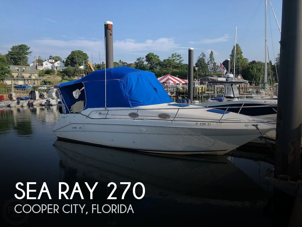 Used Sea Ray 270 sundancer Boats For Sale by owner | 1997 Sea Ray 270 Sundancer
