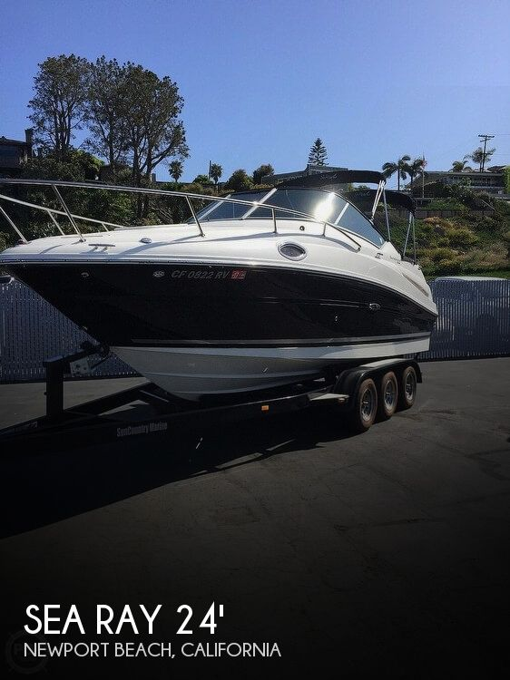 Used Sea Ray Boats For Sale in California by owner | 2012 Sea Ray Sundancer 240
