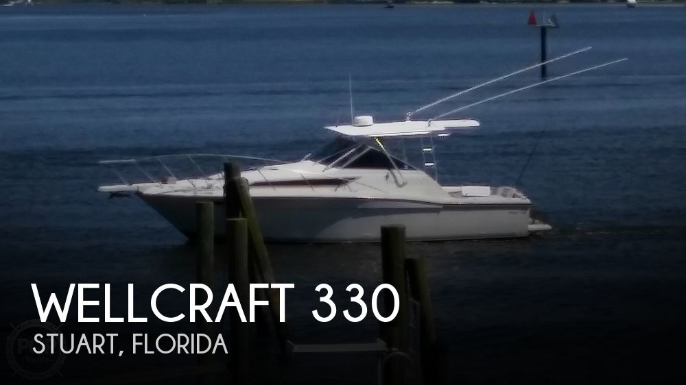 1989 WELLCRAFT 330 COASTAL for sale