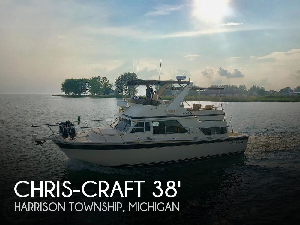 Used Chris-Craft Boats For Sale in Michigan by owner | 1980 38 foot Chris-Craft Corinthian