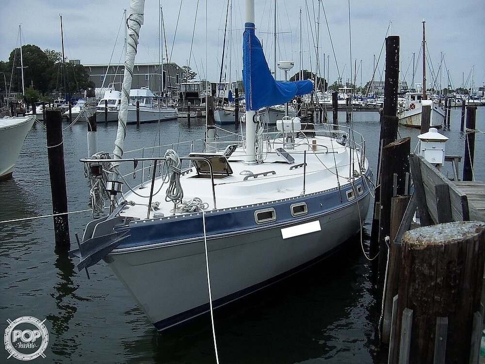 1987 Morgan boat for sale, model of the boat is 41 CATALINA CLASSIC Mark II & Image # 14 of 40