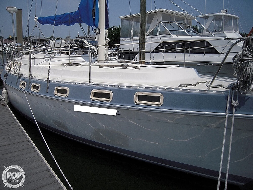 1987 Morgan boat for sale, model of the boat is 41 CATALINA CLASSIC Mark II & Image # 13 of 38