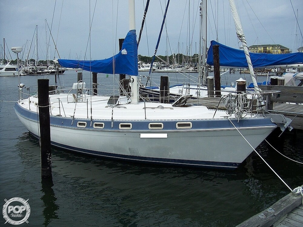 1987 Morgan boat for sale, model of the boat is 41 CATALINA CLASSIC Mark II & Image # 35 of 38