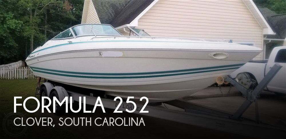1997 Formula boat for sale, model of the boat is Thunderbird 252 BR & Image # 1 of 40