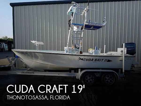 Used Power boats For Sale by owner | 2004 Cuda Craft 19