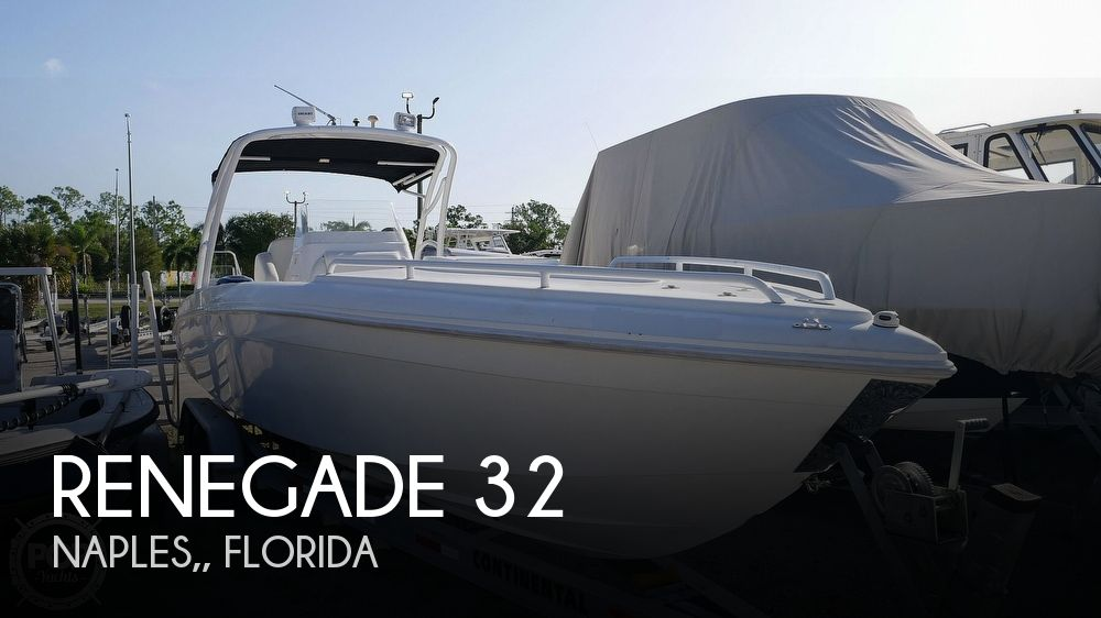2006 Renegade boat for sale, model of the boat is 32 Center Console & Image # 1 of 40