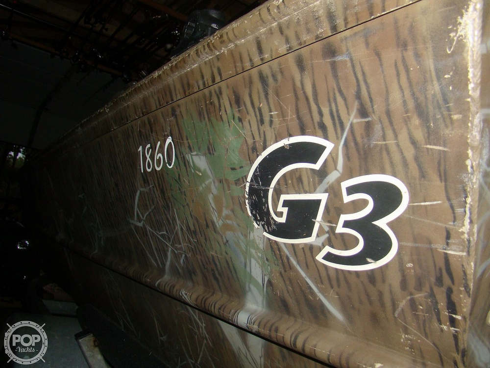 2010 G3 Boats boat for sale, model of the boat is 1860 SC Camo & Image # 21 of 41