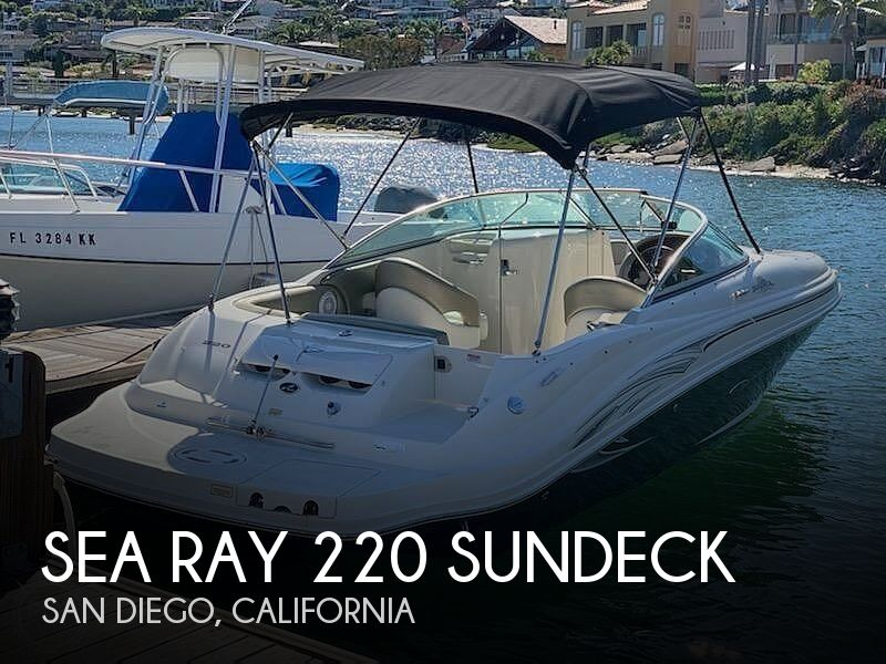 Used Sea Ray Boats For Sale in San Diego, California by owner | 2006 Sea Ray 22