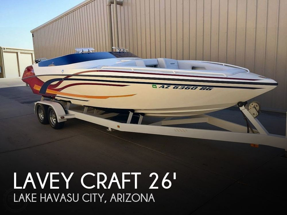 Used Lavey Craft Boats For Sale by owner | 2004 Lavey Craft 26 NuEra Offshore