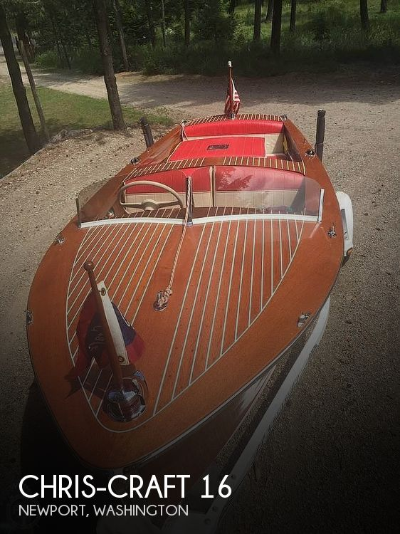 Used Chris Craft Boats For Sale in Washington by owner | 1951 Chris-Craft 16