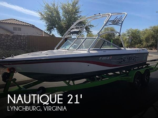 Used Boats For Sale in Lynchburg, Virginia by owner   2006 Nautique Super Air Nautique: 21