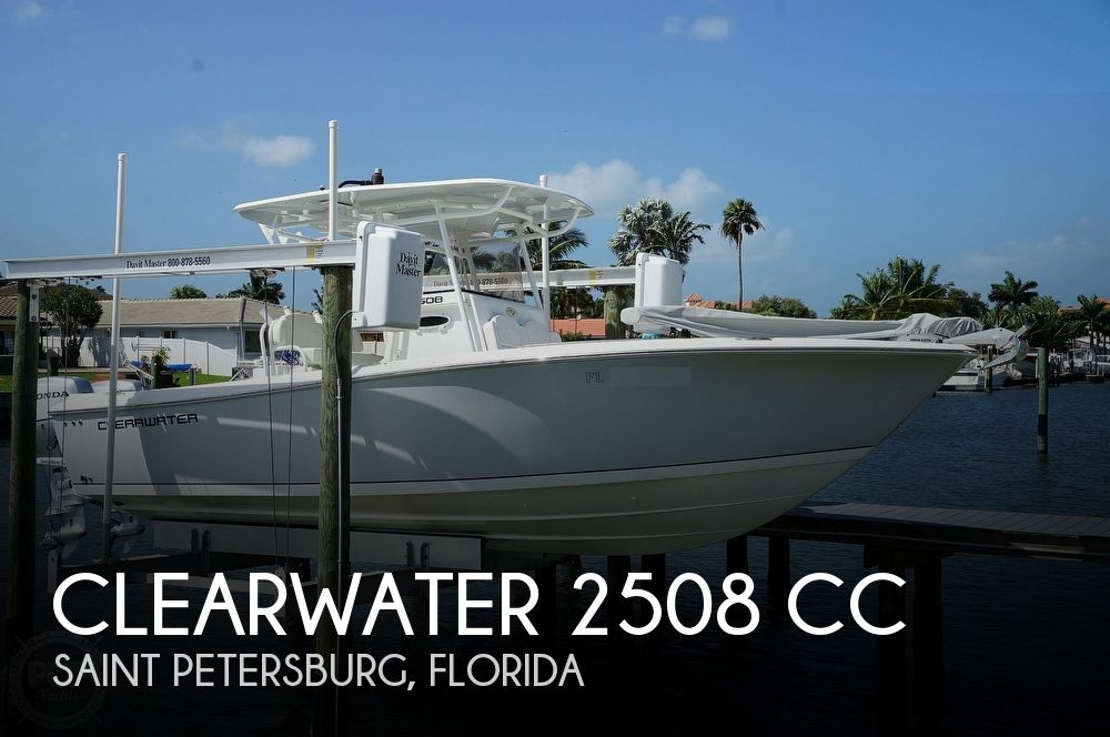 2018 Clearwater boat for sale, model of the boat is 2508 CC & Image # 1 of 40