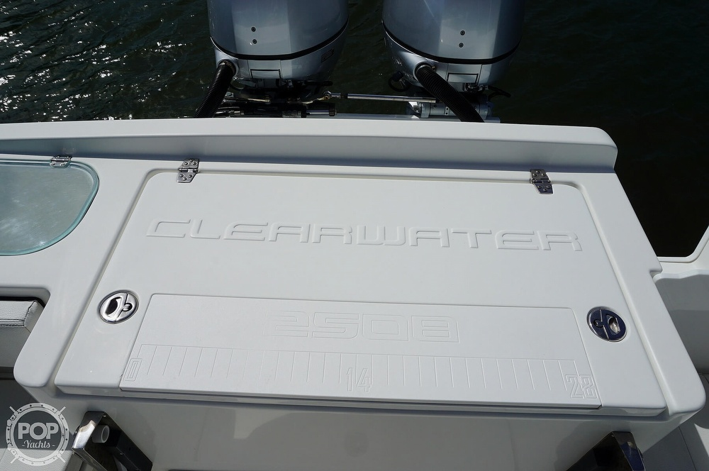 2018 Clearwater boat for sale, model of the boat is 2508 CC & Image # 29 of 40