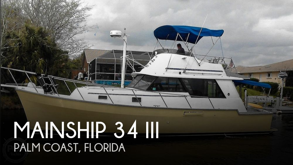 Used Motoryachts For Sale in Jacksonville, Florida by owner | 1983 Mainship 34 III
