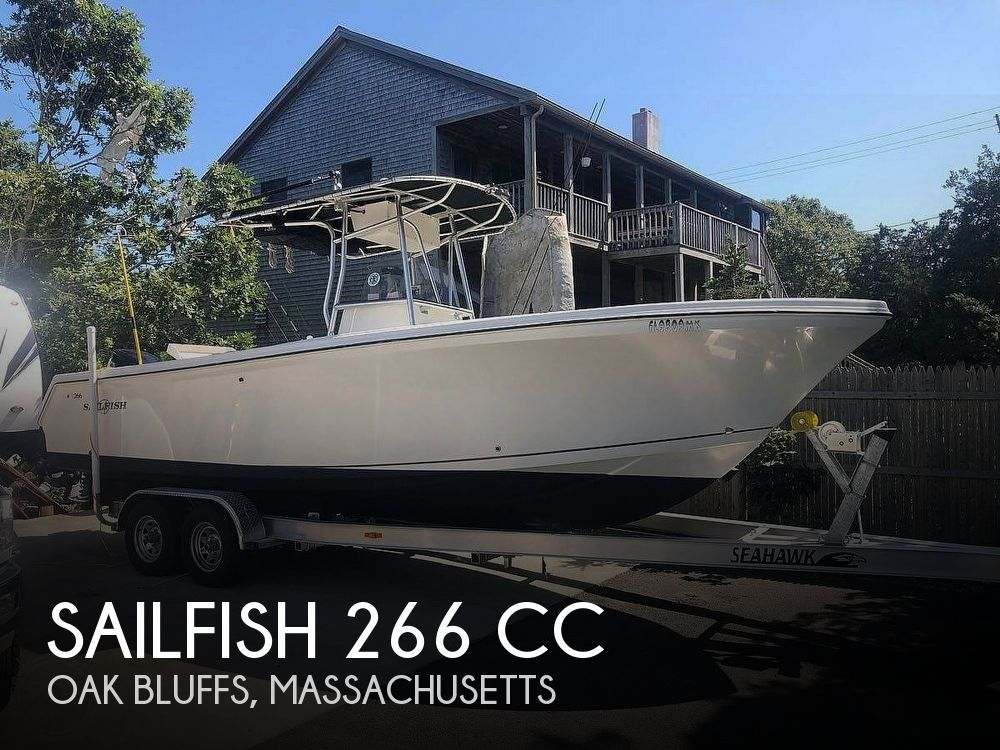 2004 SAILFISH 266 CC for sale