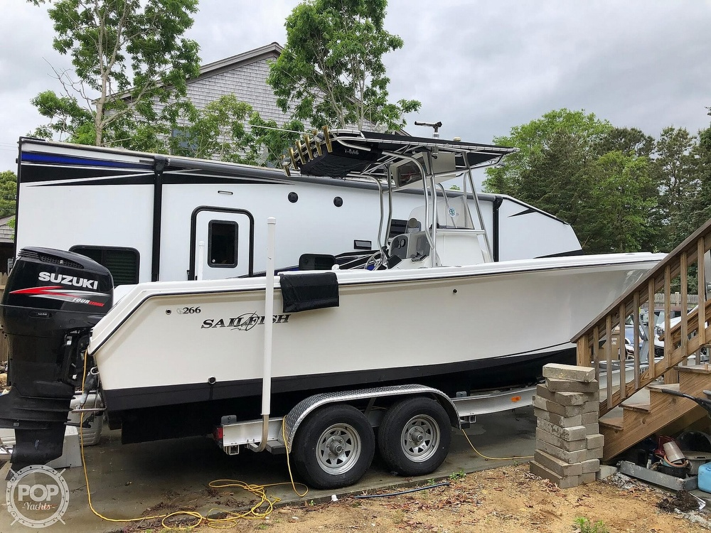 2004 Sailfish boat for sale, model of the boat is 266 CC & Image # 18 of 30