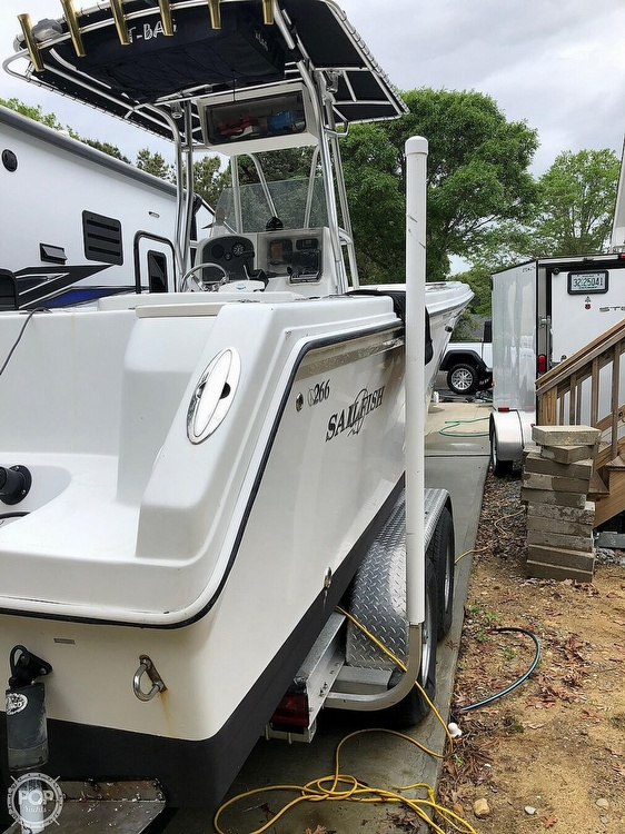 2004 Sailfish boat for sale, model of the boat is 266 CC & Image # 23 of 30