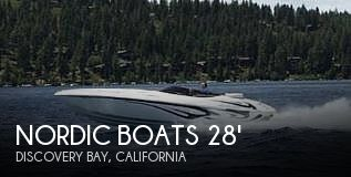 Used Boats For Sale in Fresno, California by owner | 2006 Nordic Boats 28