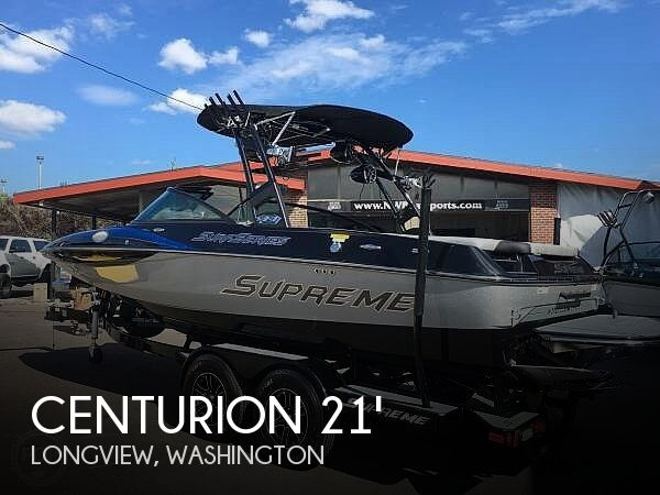 Used Ski Boats For Sale in Washington by owner | 2016 Centurion Supreme S21