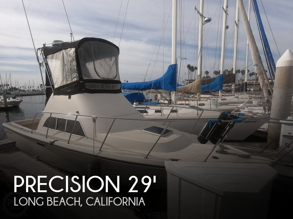 Used Precision Boats For Sale by owner | 1992 Precision Flybridge Sportfisher 28
