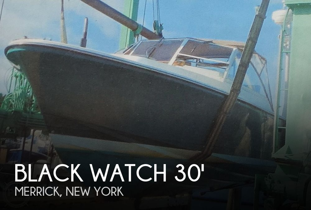 Used Black Watch Boats For Sale in New York by owner | 1989 Black Watch 30 Express