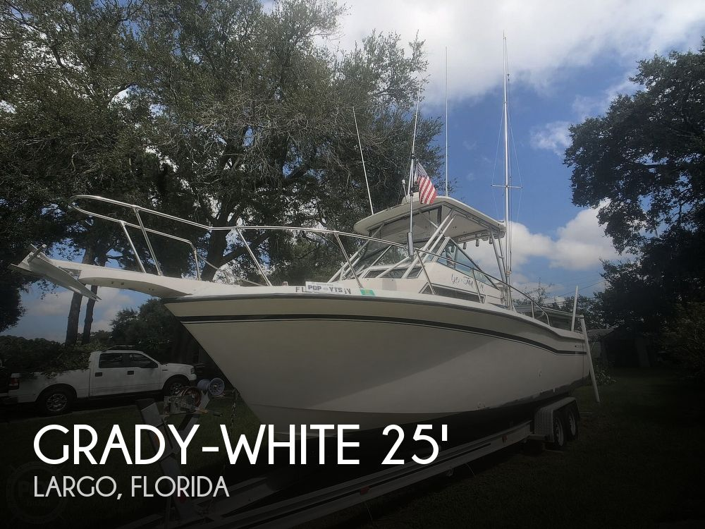 1991 Grady-White boat for sale, model of the boat is Sailfish 25 Sport Bridge & Image # 1 of 40