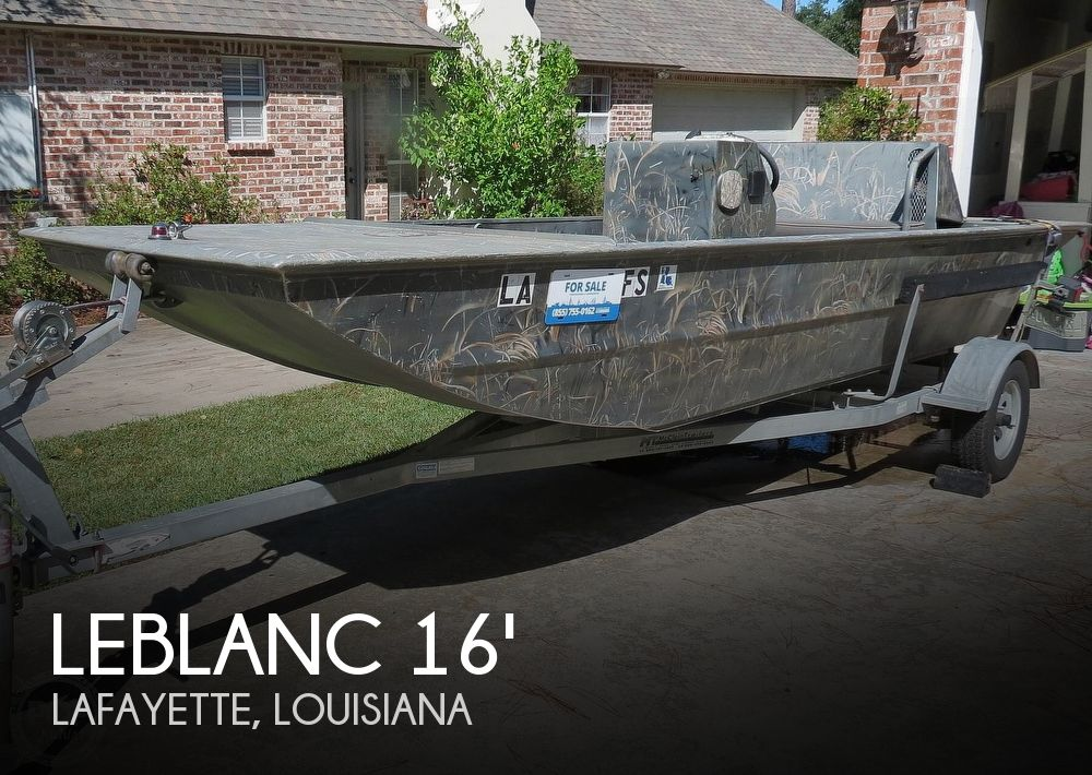 2007 Leblanc Boat Works boat for sale, model of the boat is 16 Custom Duck hunter & Image # 1 of 41