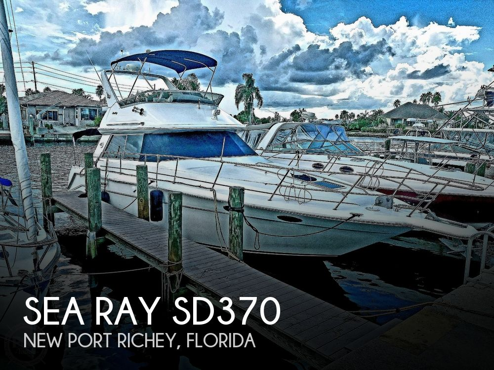 Used Sea Ray 37 Boats For Sale by owner | 1996 Sea Ray SD370