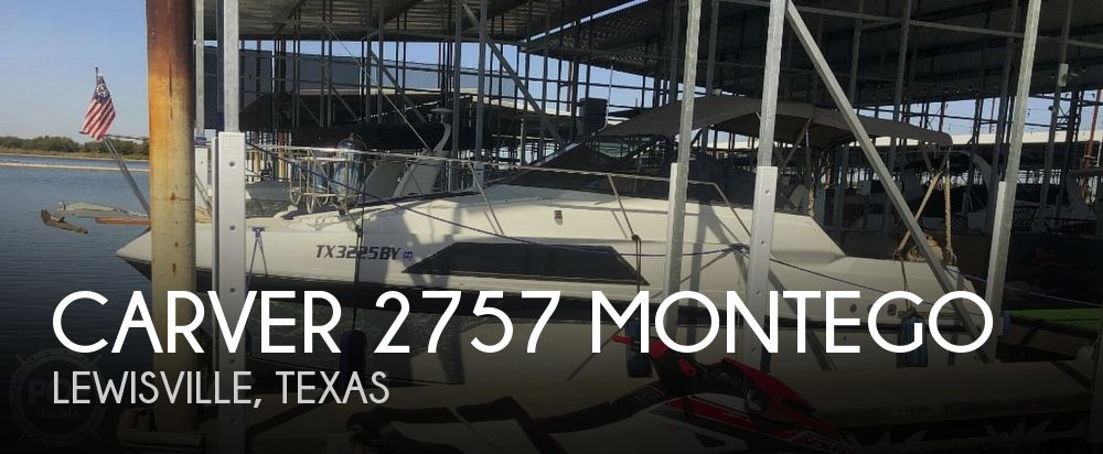 Used Carver 27 Boats For Sale by owner | 1987 Carver 2757