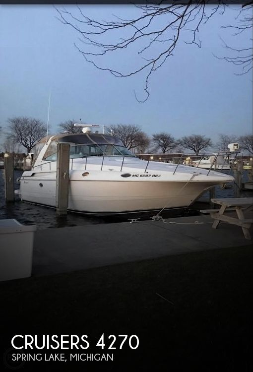 Used Boats For Sale in Kalamazoo, Michigan by owner | 1997 Cruisers Yachts 4270