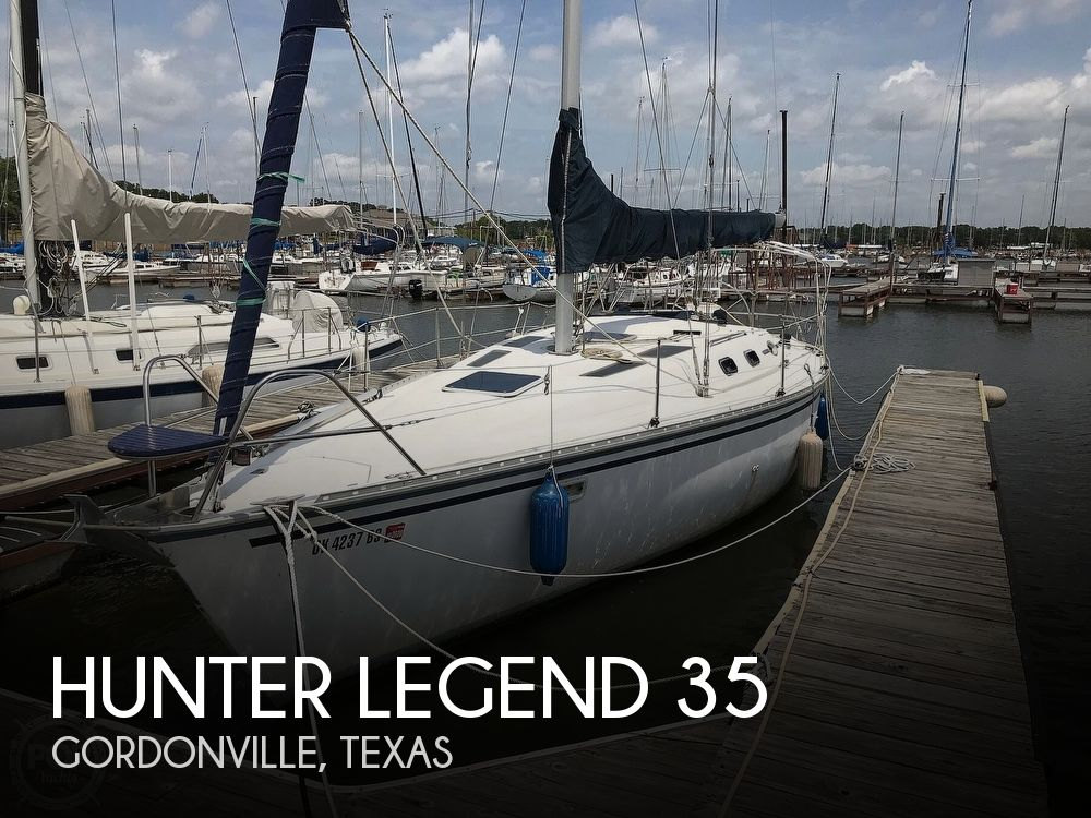 Used Hunter Sailboats For Sale in Texas by owner   1988 Hunter 35