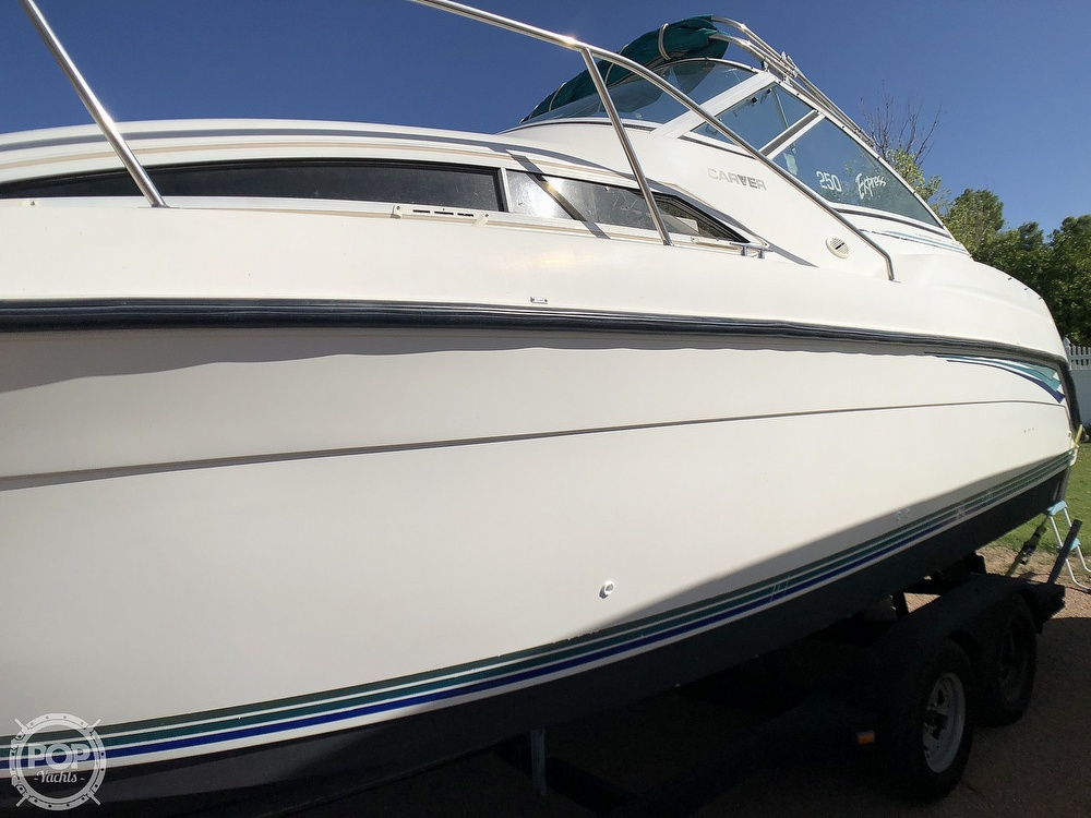 1994 Carver boat for sale, model of the boat is 250 Mid-Cabin Express & Image # 24 of 40
