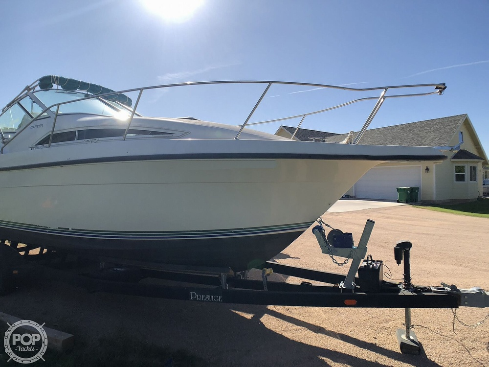1994 Carver boat for sale, model of the boat is 250 Mid-Cabin Express & Image # 18 of 40