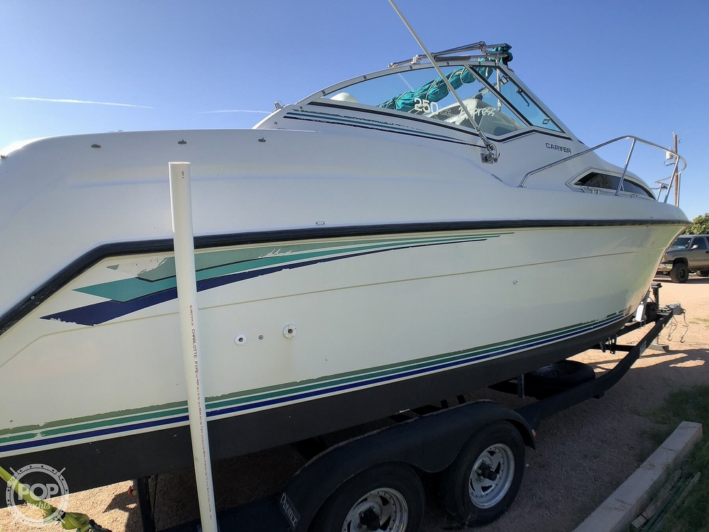 1994 Carver boat for sale, model of the boat is 250 Mid-Cabin Express & Image # 27 of 40