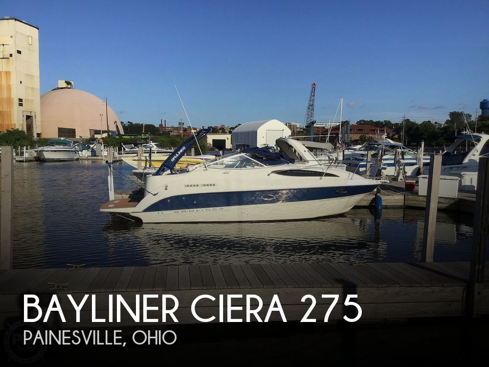 Used Bayliner Boats For Sale in Ohio by owner | 2005 27 foot Bayliner Sierra