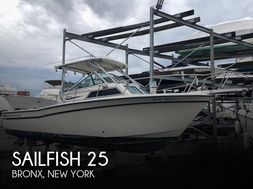 1988 Sailfish boat for sale, model of the boat is 25 & Image # 1 of 13