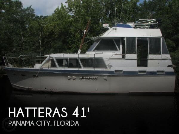 1968 HATTERAS 41 DCMY DIESEL for sale