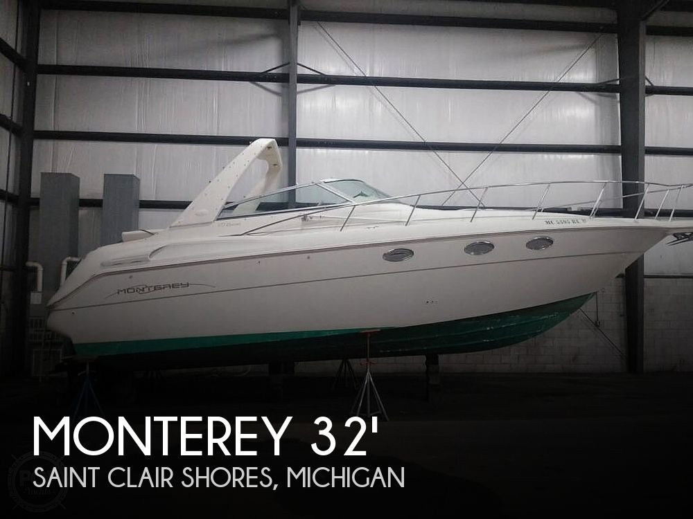 Used Monterey Boats For Sale in Michigan by owner   1998 Monterey 322CR