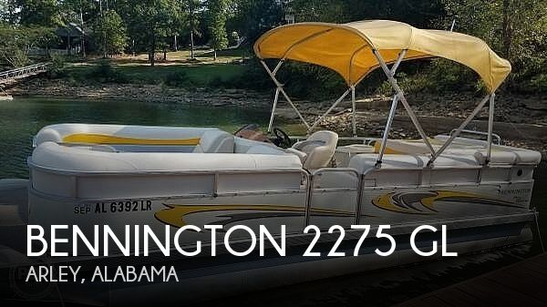Used Pontoon Boats For Sale in Alabama by owner | 2007 Bennington 2275 GL