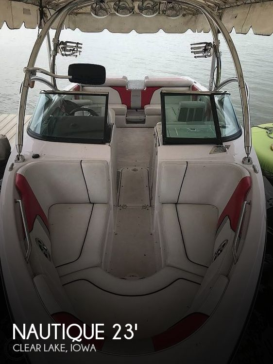 Used Boats For Sale in Iowa by owner | 2008 Nautique 23