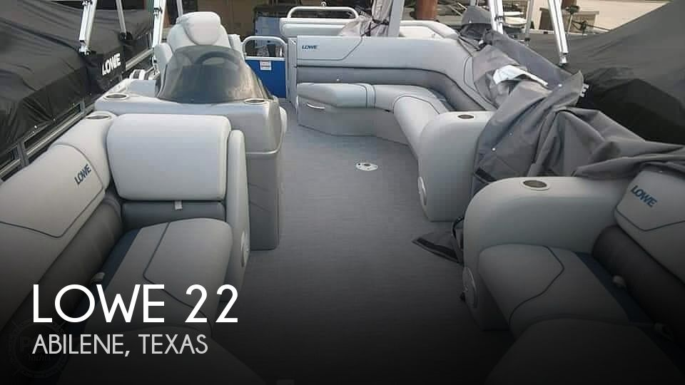Used Lowe Pontoon Boats For Sale by owner | 2017 Lowe 22'