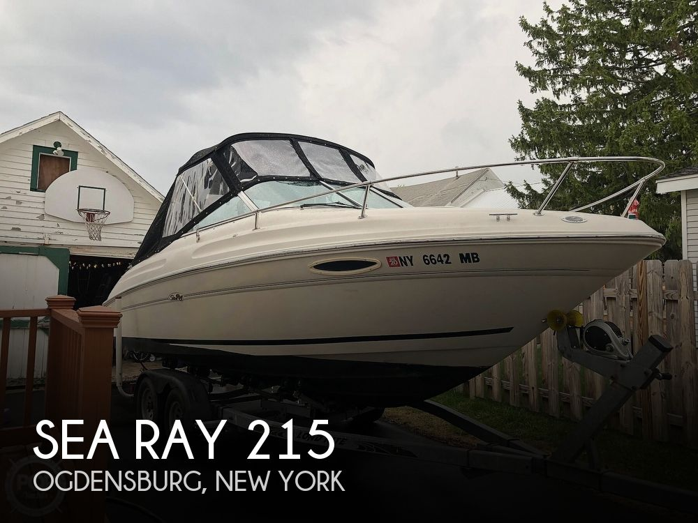 Used Sea Ray 215 Boats For Sale by owner | 1999 Sea Ray 215