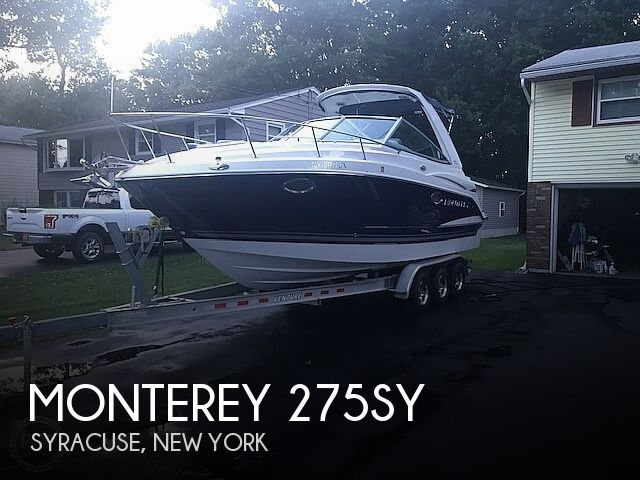 Used Boats For Sale in Binghamton, New York by owner | 2016 Monterey 275SY