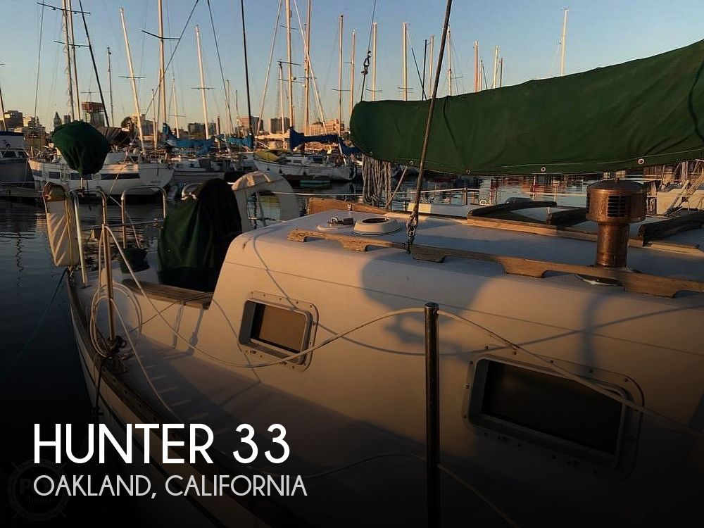 Used Hunter Sailboats For Sale in California by owner | 1979 Hunter 33