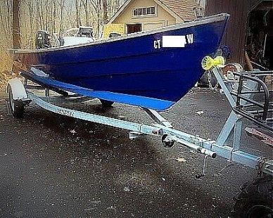 2000 Holby Marine 17 Bristol Skiff - #1