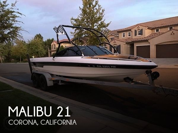 Used MALIBU Boats For Sale in California by owner | 2000 Malibu 21