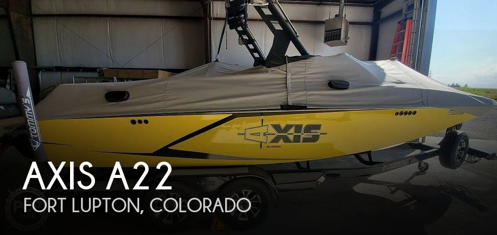 Used Boats For Sale in Boulder, Colorado by owner | 2017 Axis A22