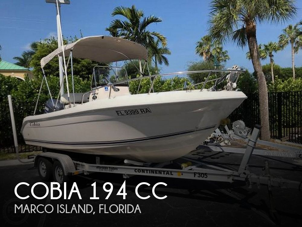 2006 Cobia boat for sale, model of the boat is 194 CC & Image # 1 of 6