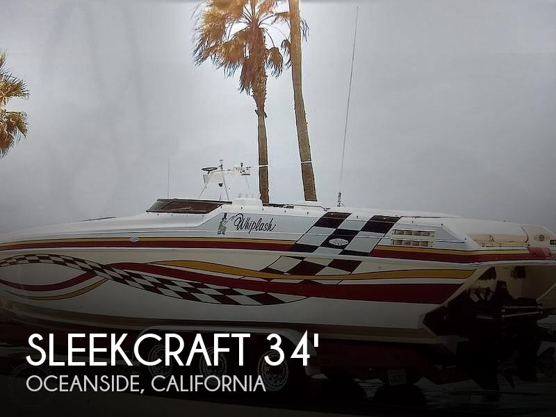 Used Sleekcraft Boats For Sale by owner | 1997 34 foot Sleekcraft Magic Boats Heritage
