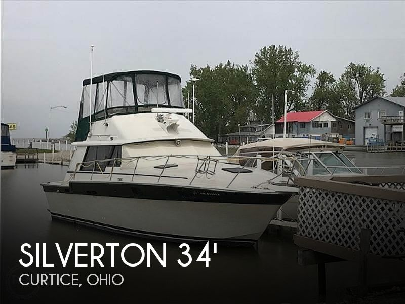 Used Fishing boats For Sale in Ohio by owner | 1984 Silverton Convertible 34